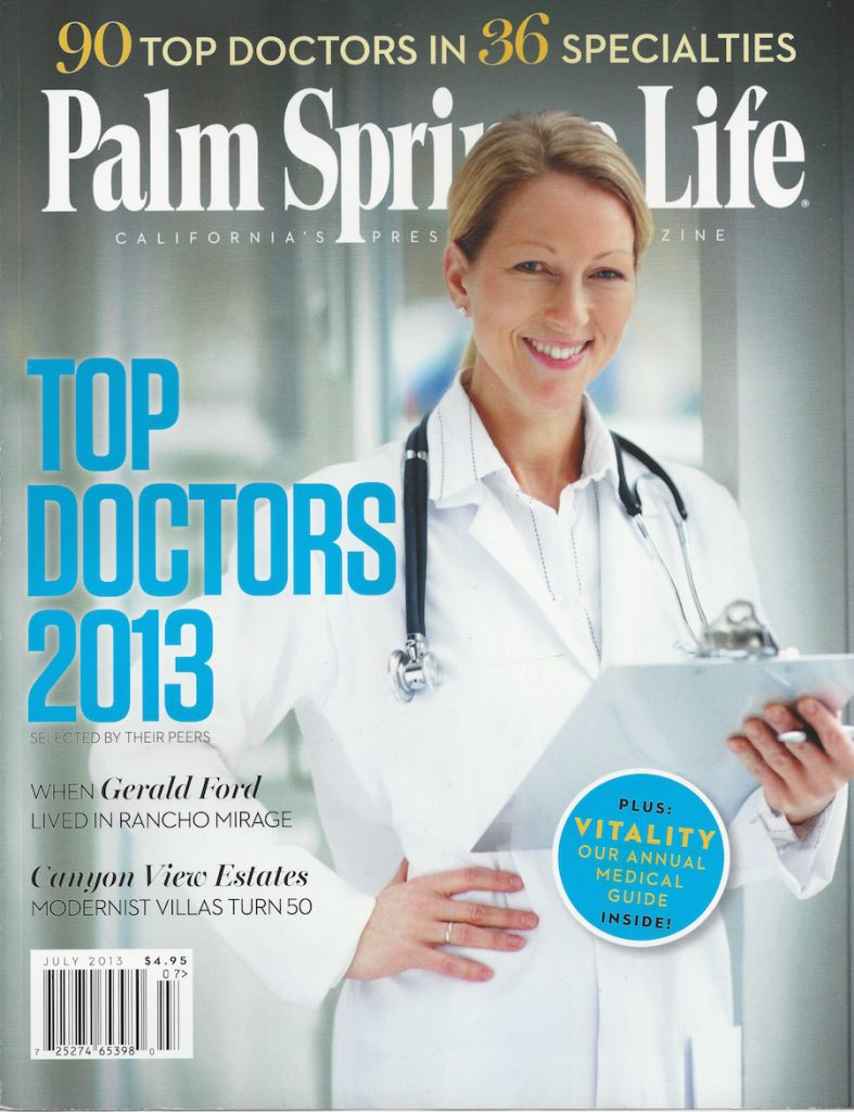 Top-doc-2013-787x1024 Awards/Media Rancho Mirage | Palm Springs