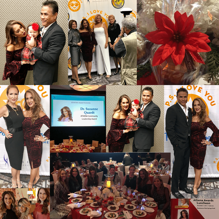 "unnamed Dr. Q awarded ""Community Leadership Award"" at Annual 2017 Athena Awards Luncheon Rancho Mirage 